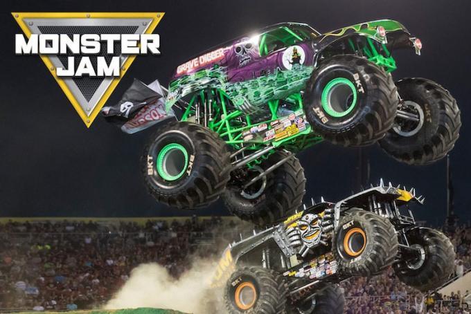 Monster Jam at Angel Stadium of Anaheim