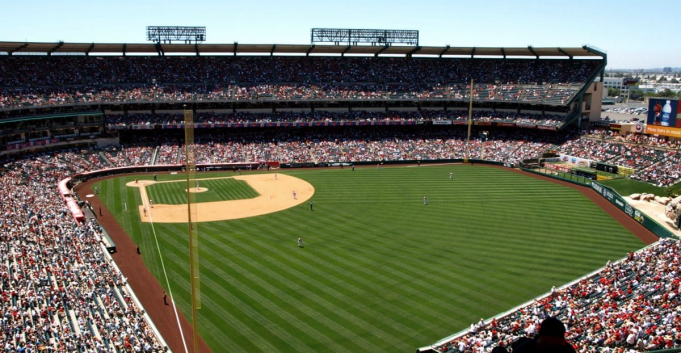 Los Angeles Angels of Anaheim vs. New York Yankees at Angel Stadium of Anaheim