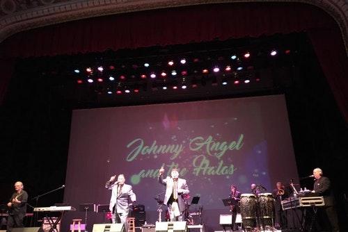 Johnny Angel and The Halos at Angel Stadium of Anaheim