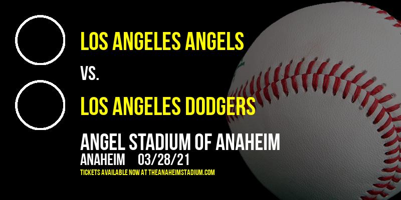 Exhibition: Los Angeles Angels vs. Los Angeles Dodgers at Angel Stadium of Anaheim