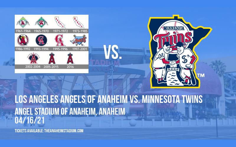 Los Angeles Angels of Anaheim vs. Minnesota Twins [CANCELLED] at Angel Stadium of Anaheim